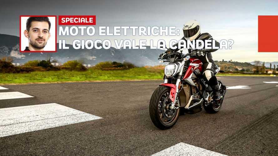 Tutto quello che devi sapere sulle moto elettriche, con la Zero SR/F