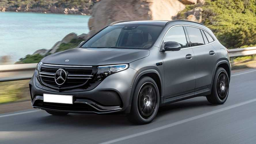 Mercedes-Benz EQA rendering lead image