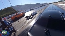 Modded GT500 Vs Stock Challenger Demon