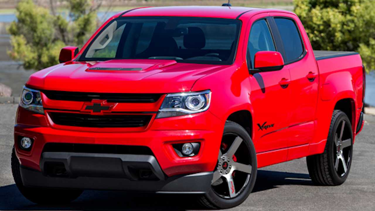 2020 Chevrolet Colorado Xtreme Is A Supercharged 455-HP Truck - Motor1