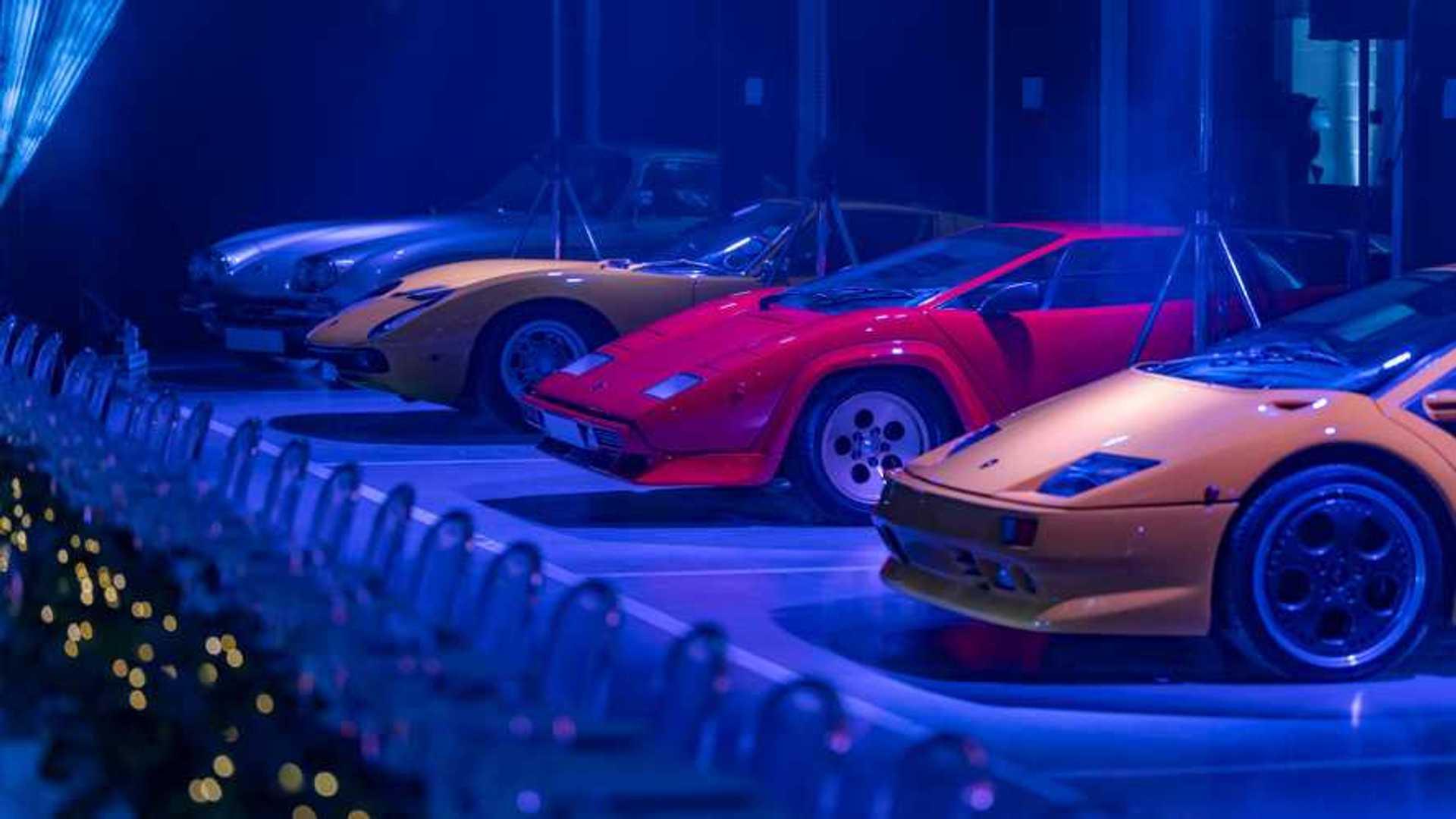Lamborghini London hosts unique dinner party