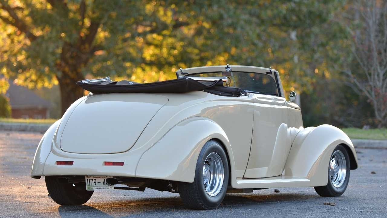 Rock On In A 1937 Ford Street Rod Convertible