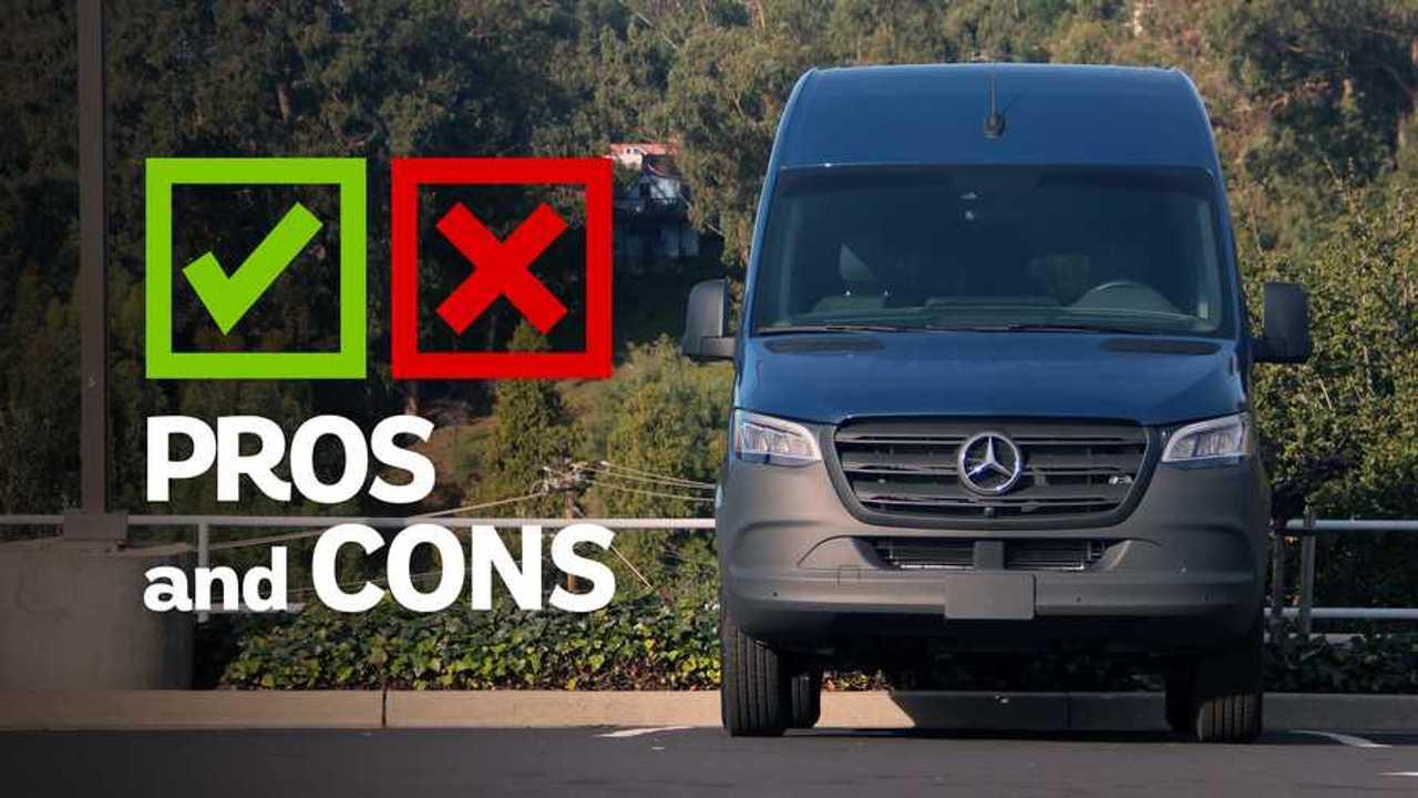2020 Mercedes-Benz Sprinter Pros And Cons