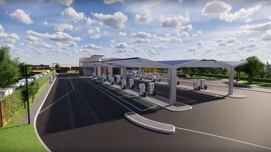 UK's First Electric Forecourt Is Under Construction