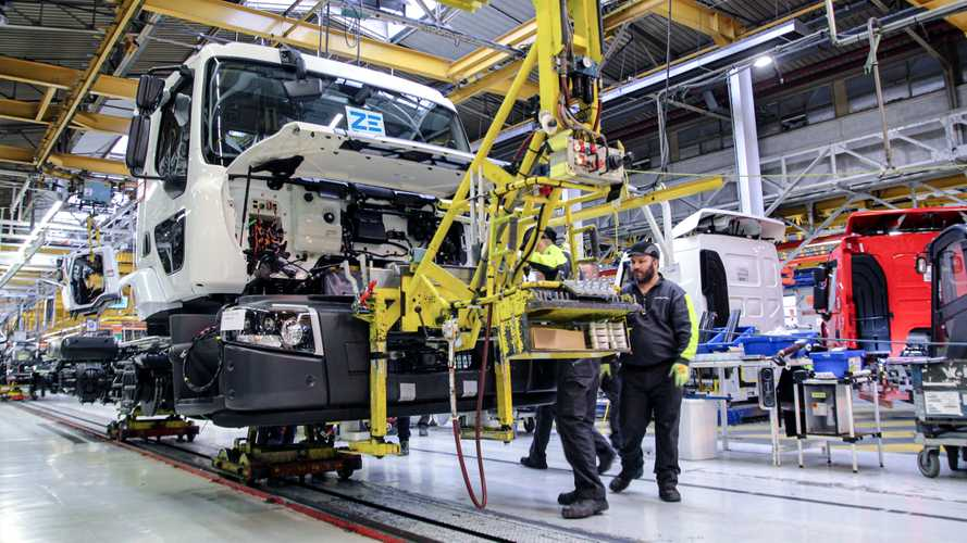 Renault Trucks Starts Series Production Of Electric Trucks