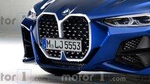 BMW Serie 4 Coupé 2020, render de Motor1.com