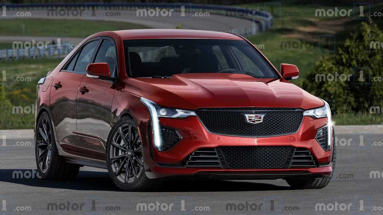 2021 Cadillac CT4-V / CT5-V Blackwing