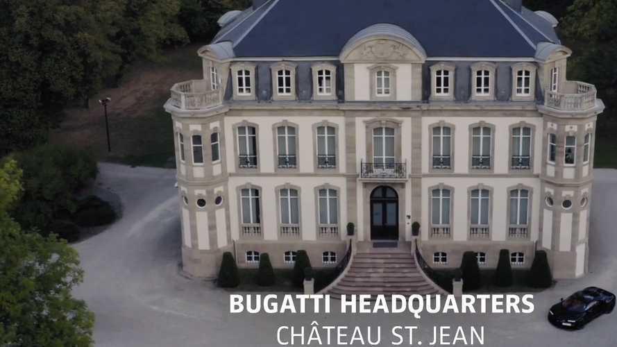 Présentation digital Bugatti Chiron Pur Sport