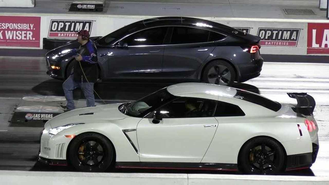 Tesla vs. Nismo GT-R