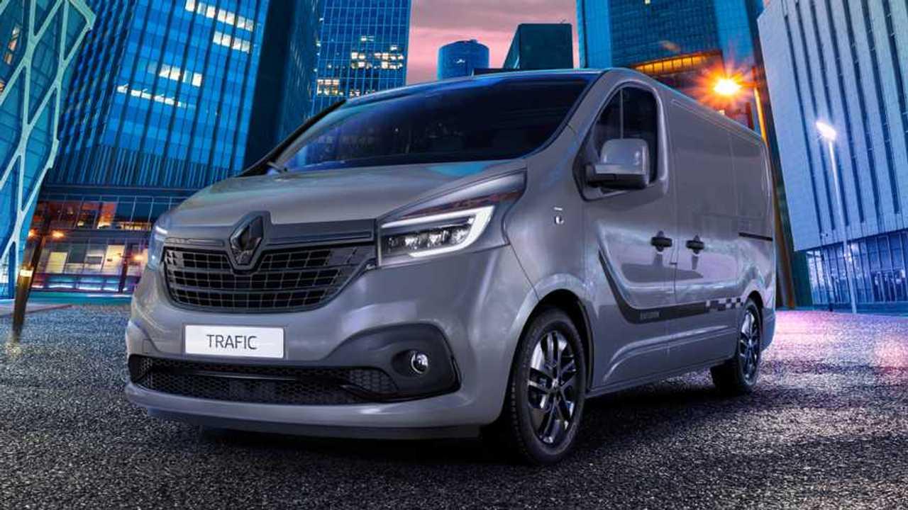 Renault adds new £28k Black Edition to Trafic van line-up