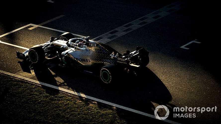 Mercedes cierra la primera semana de test con otro doblete