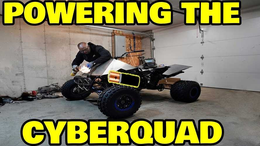 Tesla Cyberquad From Rich Rebuilds Gets Zero Motorcycles Power