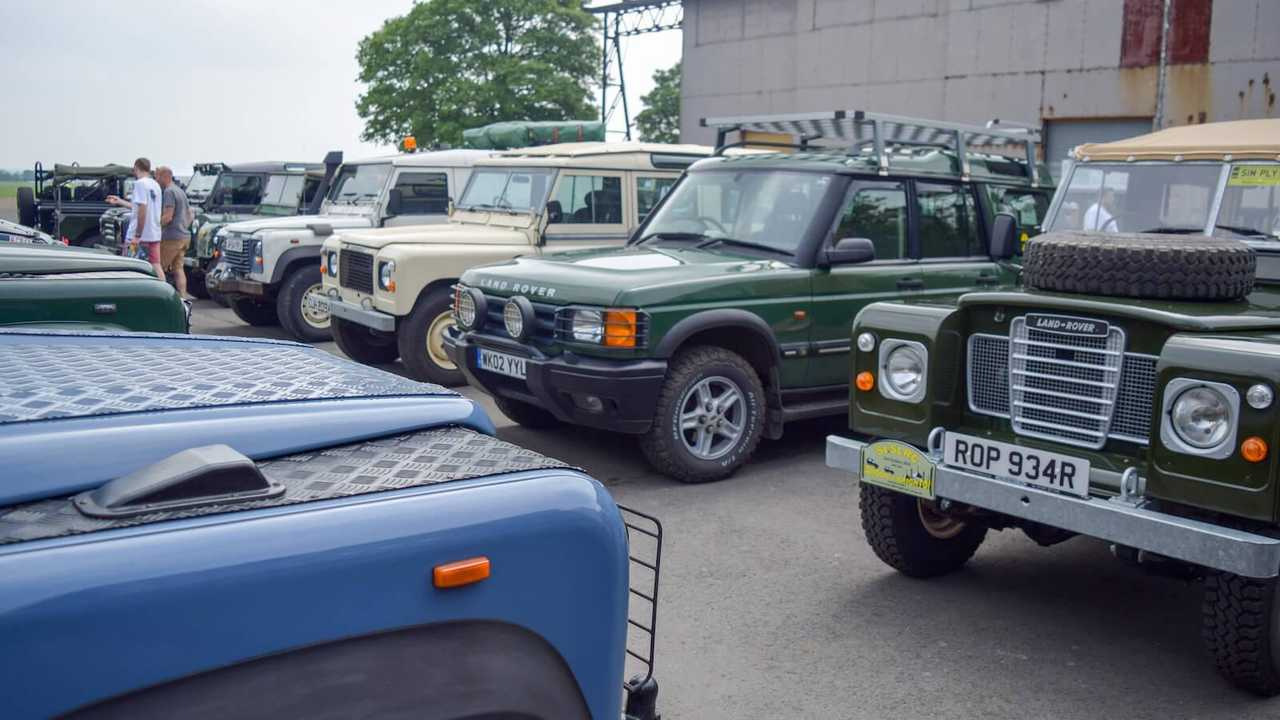 In pictures: Land Rover Legends at Bicester Heritage