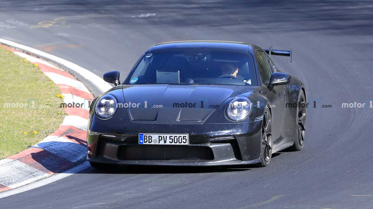 Porsche 911 GT3 Spy Fotók