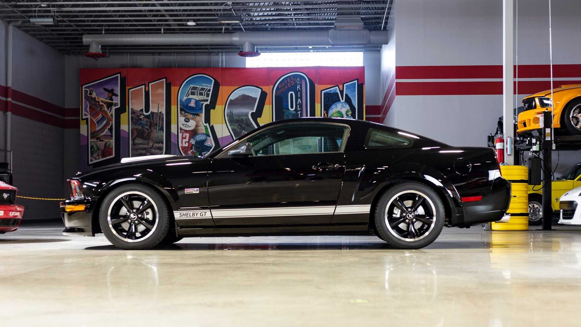 """[""""Bid On This 2007 Shelby GT With Just 30 Actual Miles""""]"""
