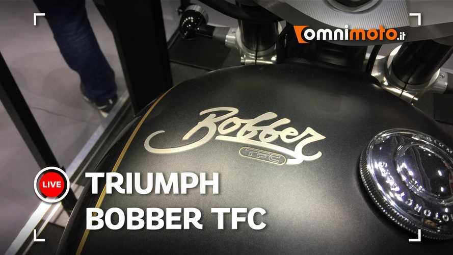 Triumph Bobber TFC al Motor Bike Expo 2020