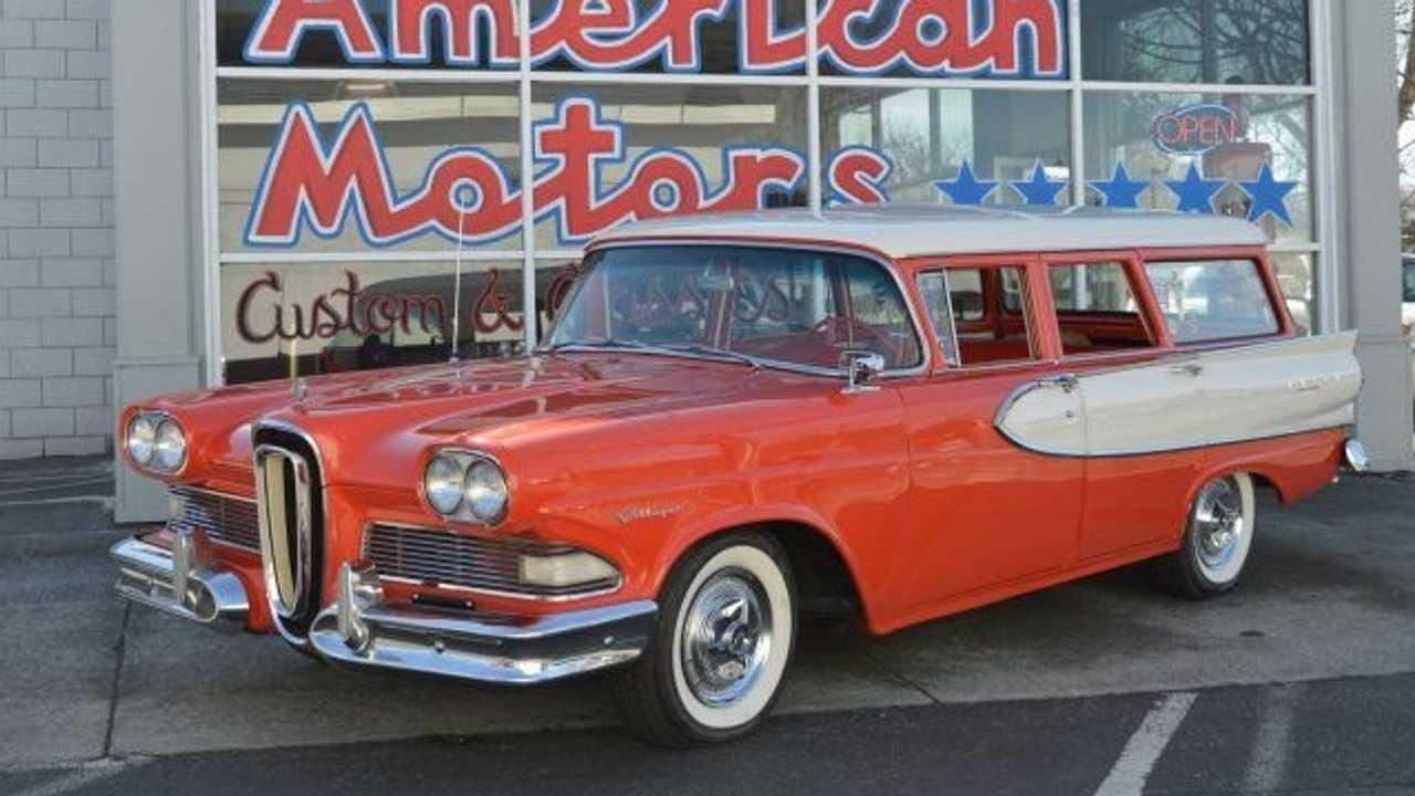 Drive This Beautiful 1958 Edsel Villager Wagon