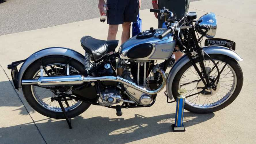 This Beautifully Restored 1937 Triumph Wants To Come Home With You
