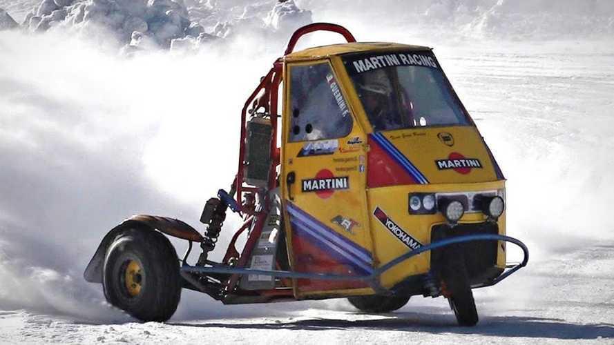 Un po' Ape un po' Triumph, la macchina da drifting 100% Made in Italy