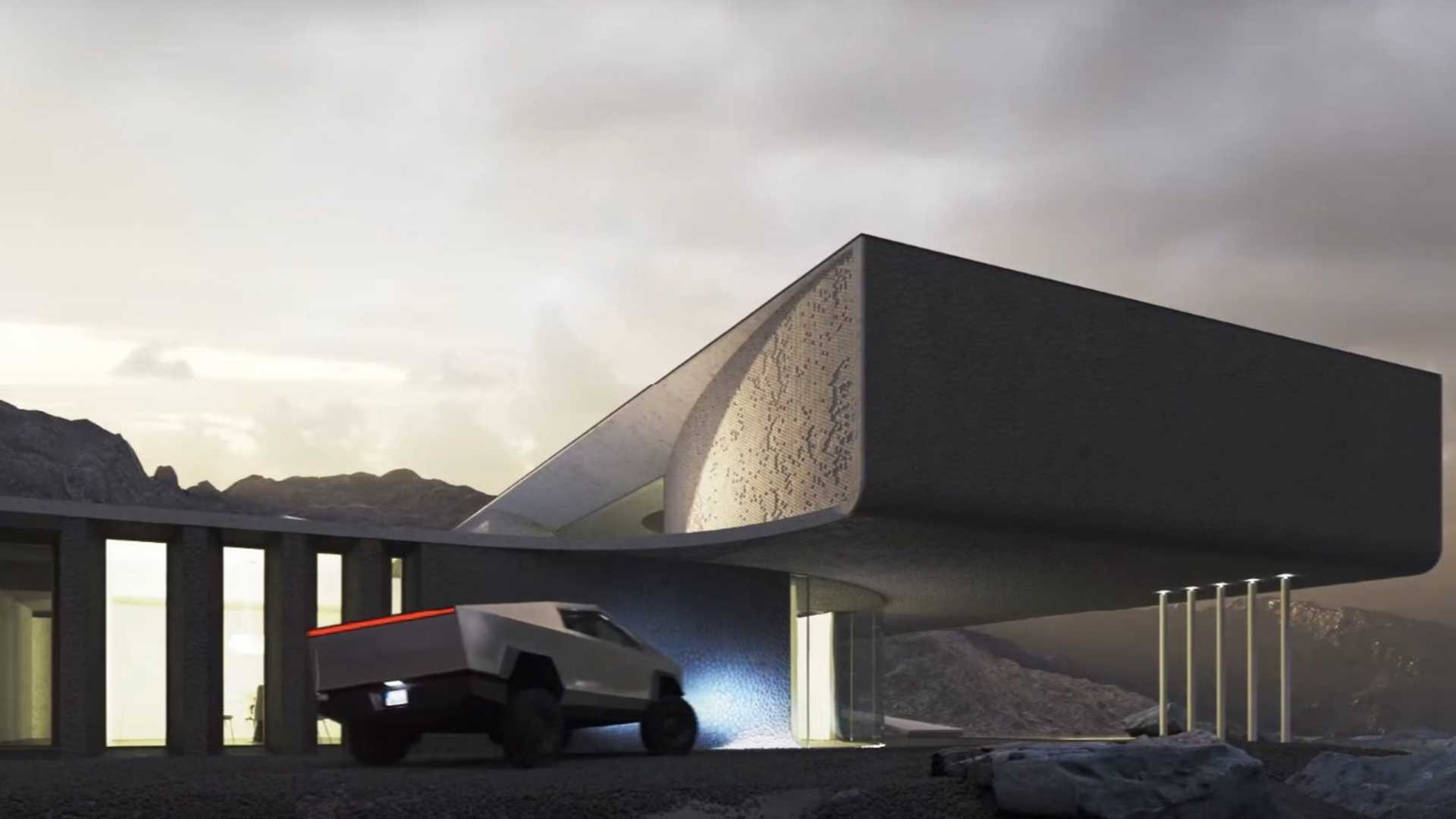 Is this radical house fitting for a Tesla Cybertruck?