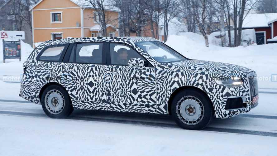Aurus Komendant 2022, la respuesta rusa al Rolls-Royce Cullinan