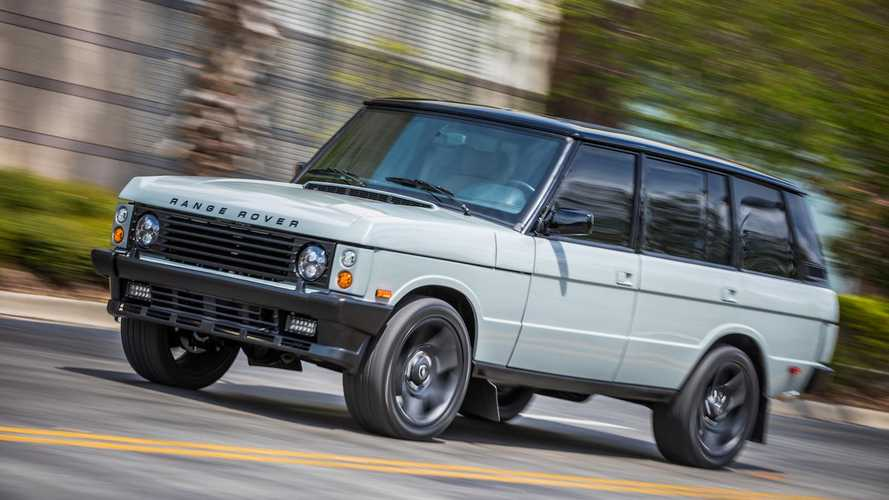 Is this the ultimate resto-mod Range Rover Classic?