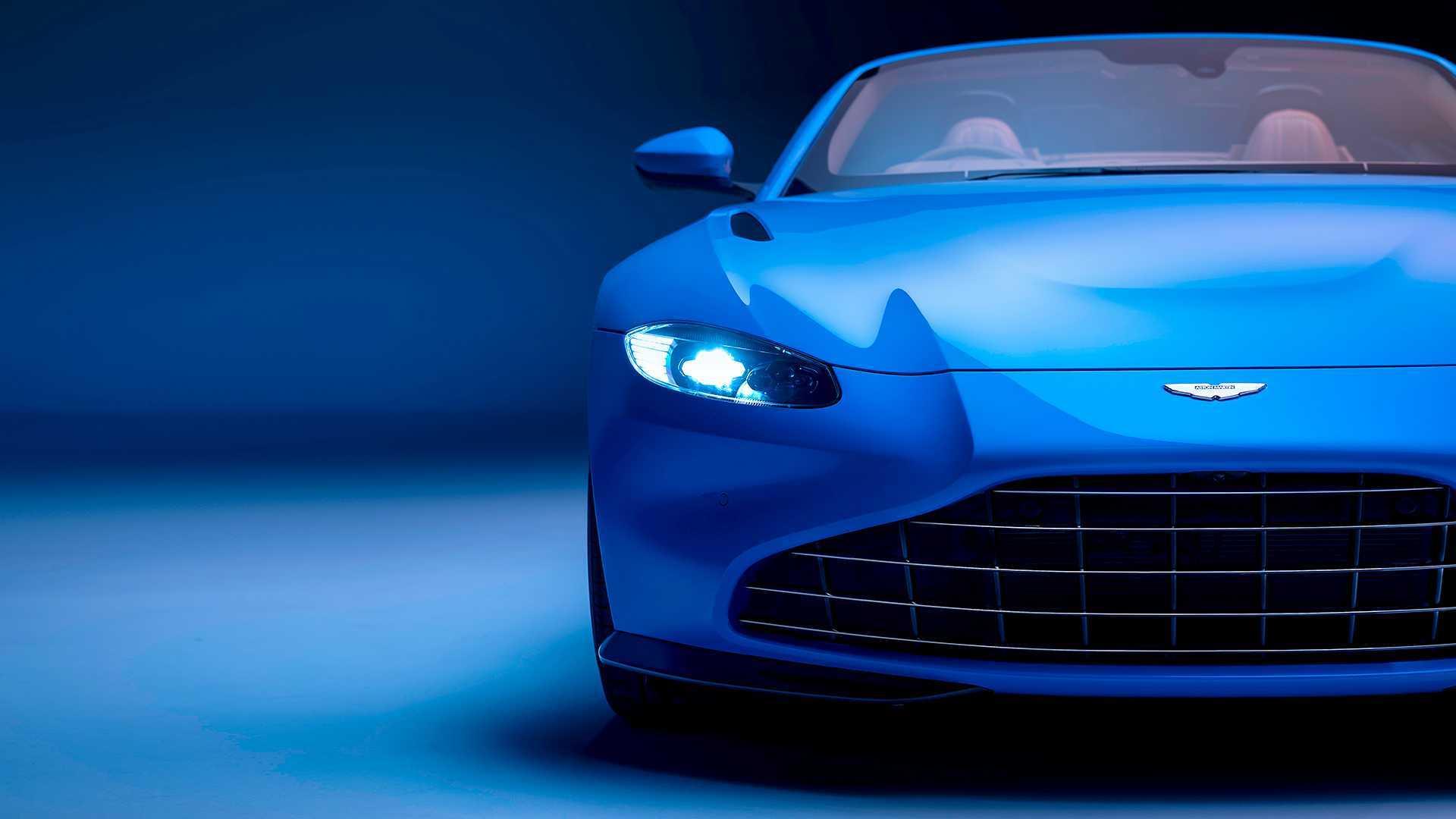Aston Martin Vantage Roadster 2020 Feiner Frischluft Flitzer