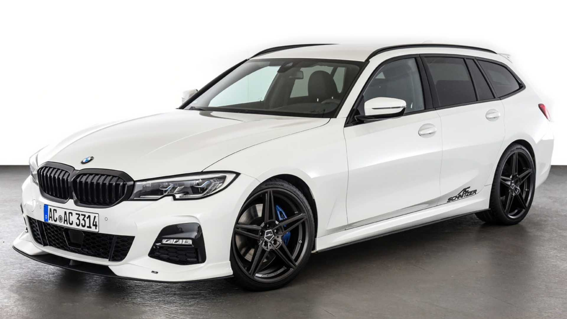2020 Bmw 3 Series Touring By Ac Schnitzer Refines The Sports Wagon