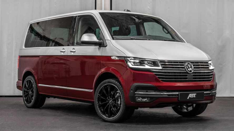 Volkswagen T6.1 con la trasformazione di ABT diventa più aggressivo