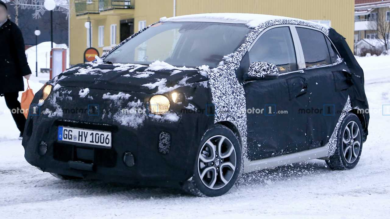New Kia Picanto spy photo