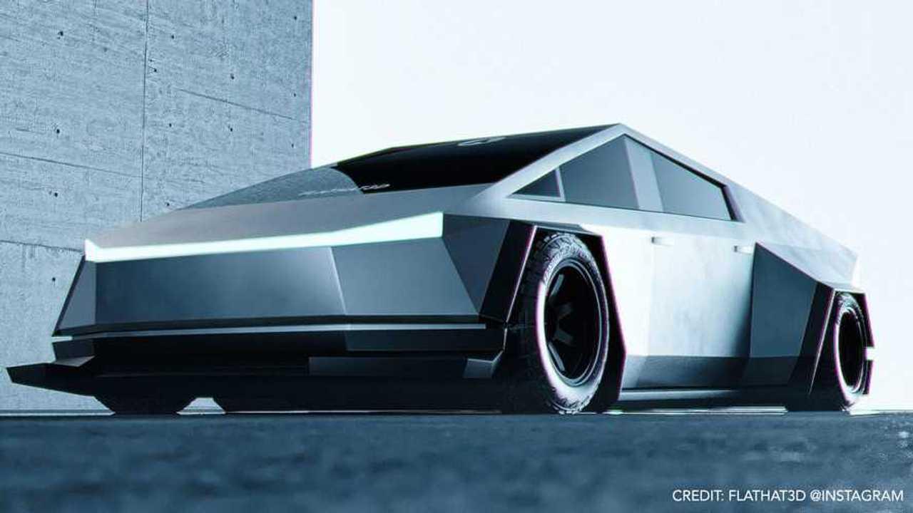 Tesla Cybetruck Plaid
