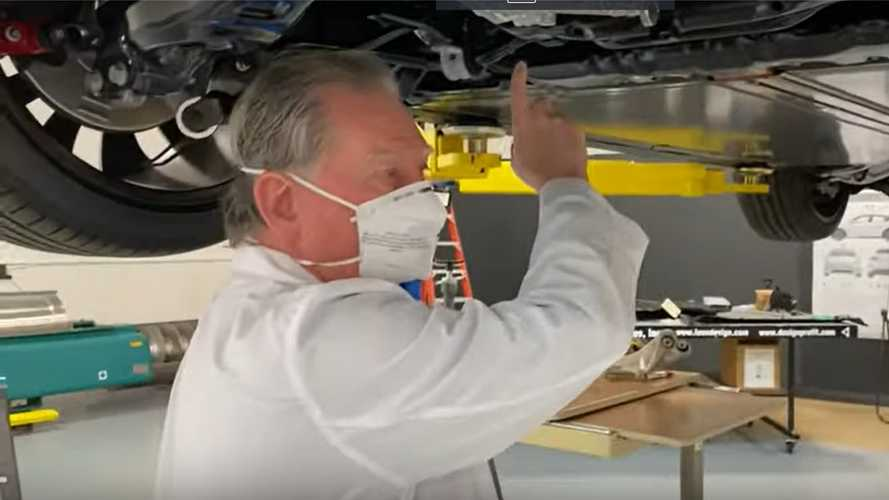 Watch Munro Expertly Inspect Tesla Model Y Rear End, Wiring, Brakes