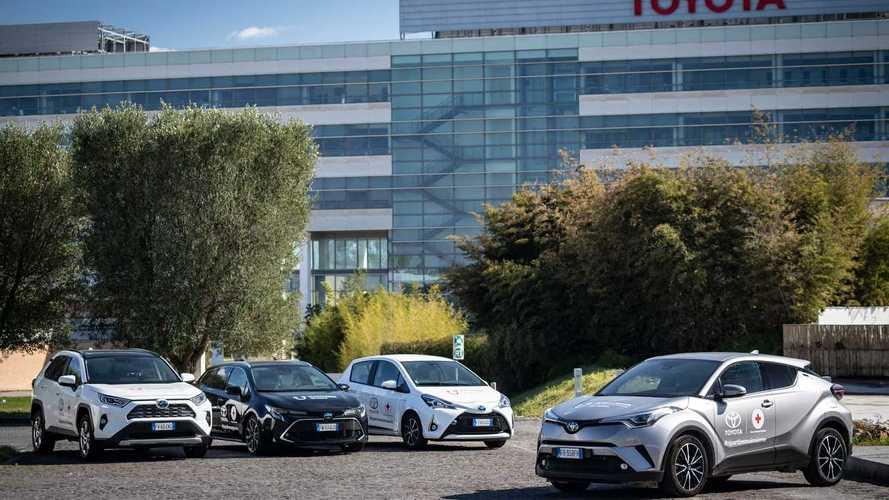 Toyota e Lexus insieme alla Croce Rossa contro il Coronavirus