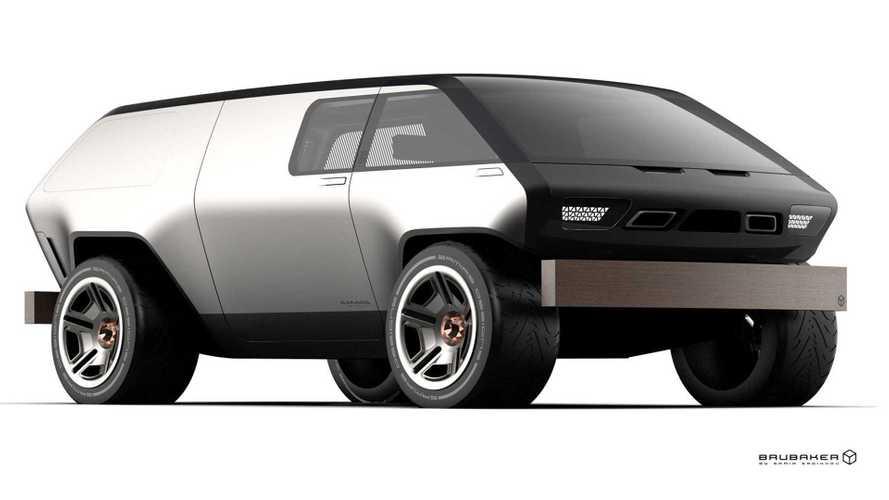 Brubaker Box Reimagined As Modern Microbus In Groovy Renderings