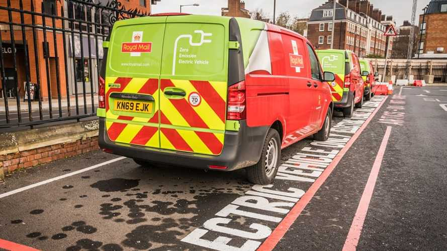 Royal Mail expands its EV fleet in London