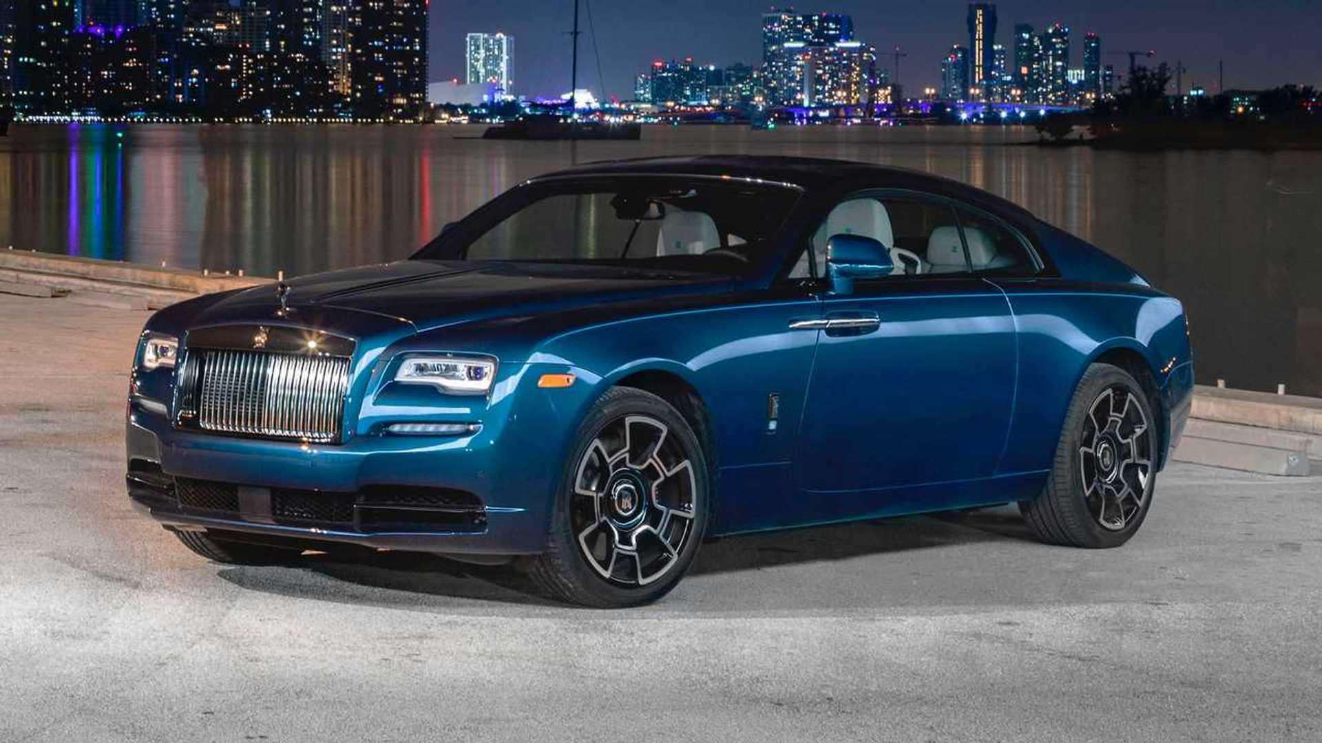 The Rolls Royce Wraith Black Badge Is Peak Miami