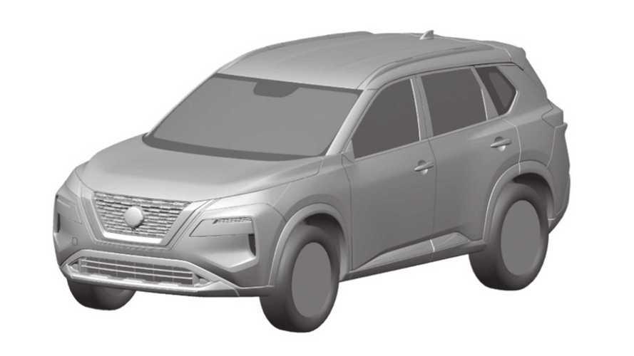 Дизайн нового Nissan X-Trail раскрыли на патентных изображениях