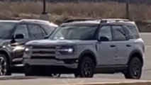 ford bronco sport spied explorer