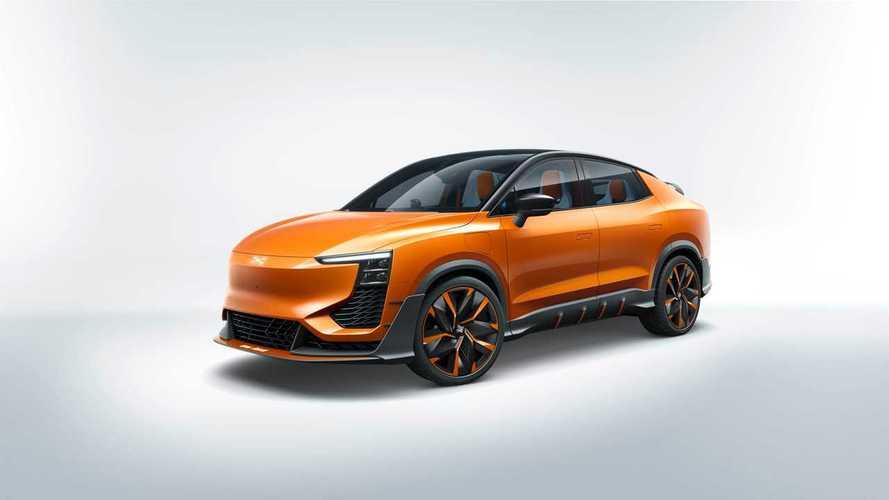 Aiways U6ion, el SUV chino que se parece al Lamborghini Urus