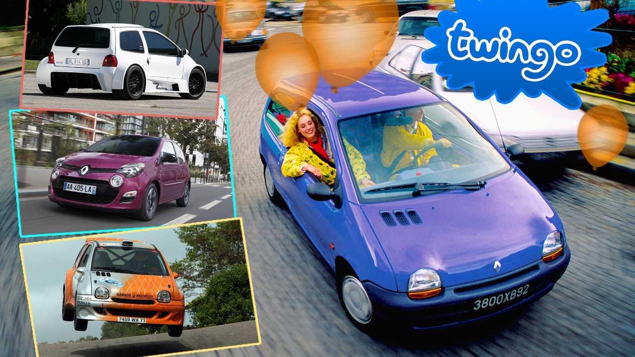 Renault Twingo in 10 Bildern