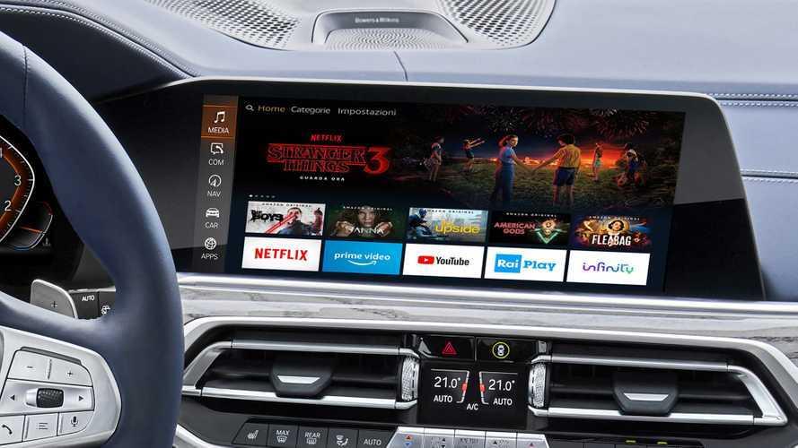Le serie TV di Amazon arrivano in auto