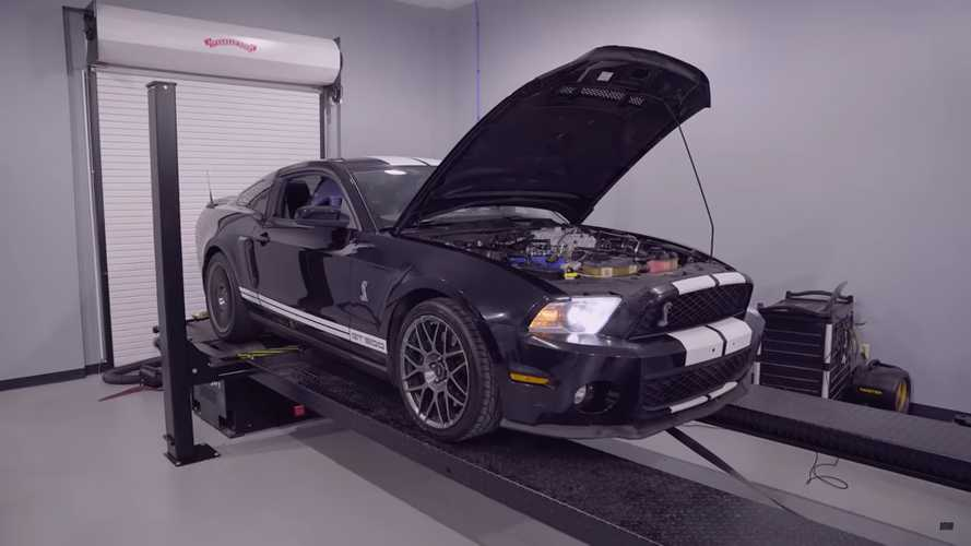 See How Much Power This Shelby GT500 With 182,271 Miles Still Has