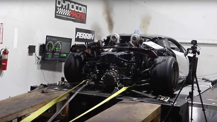 Lamborghini Huracan With LS Swap Hits The Dyno