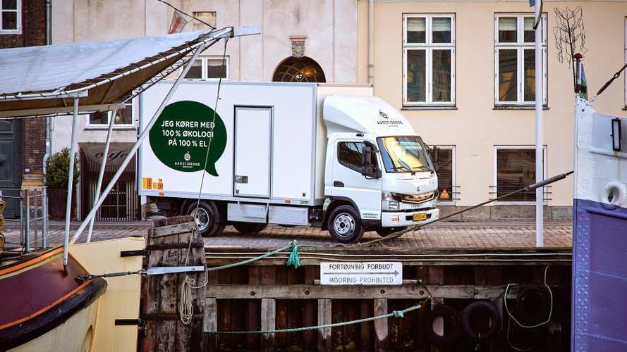 Furgoni elettrici, FUSO eCanter sbarca a Copenhagen