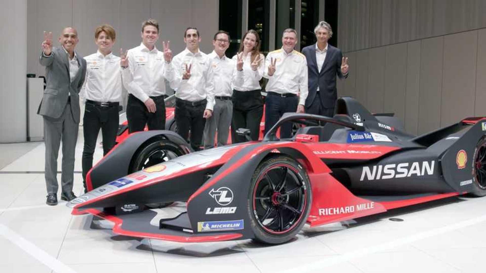Nissan Formula E Powertrain Change Adds Motivation For New Season