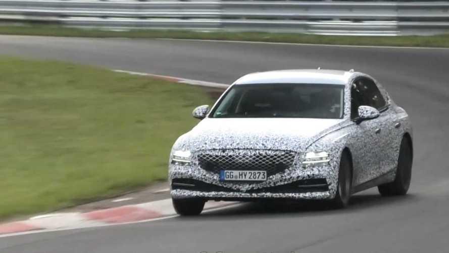 Yeni Genesis G80 Nürburgring'de görüntülendi