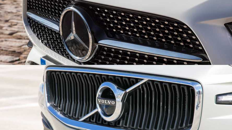 Mercedes And Volvo Might Team Up To Develop Combustion Engines