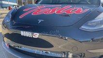 NASCAR Tesla Model 3