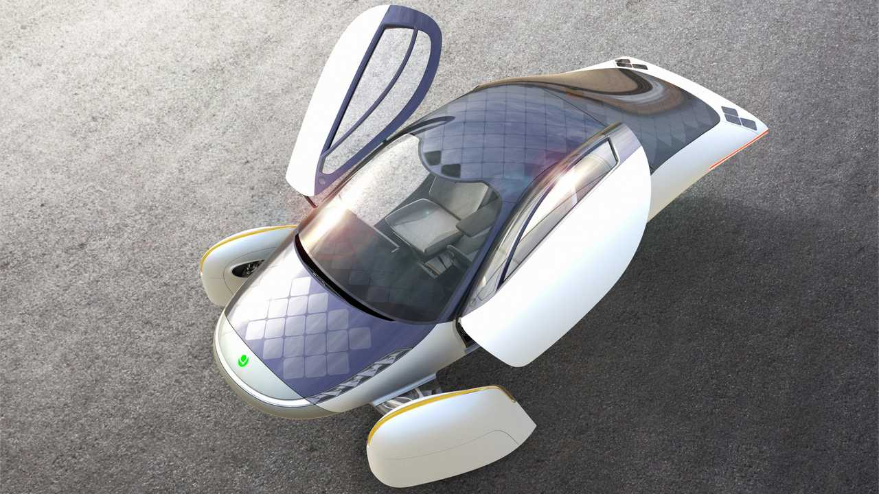 """Aptera """"Never Charge"""" Solar Charging Will Be a Standard Feature"""