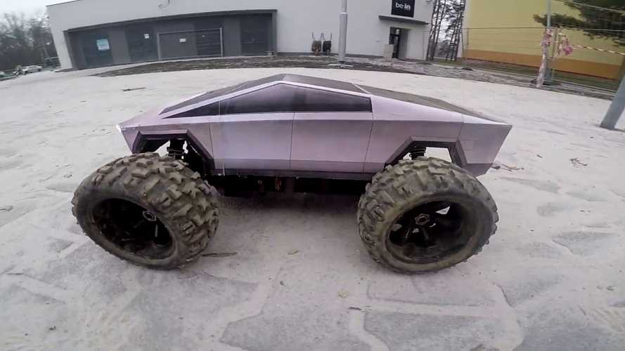 Tesla Cybertruck 'Quad Squad' Monster Truck Is Super Impressive
